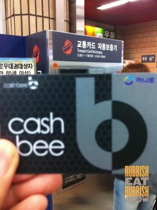 cashbee busan subway