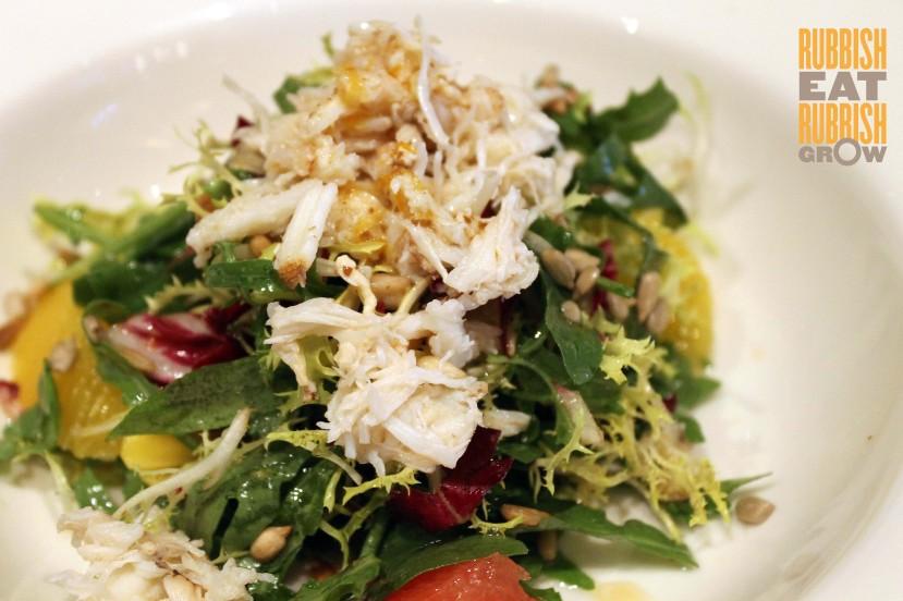 Black Swan SG Lunch Menu - Crab Salad