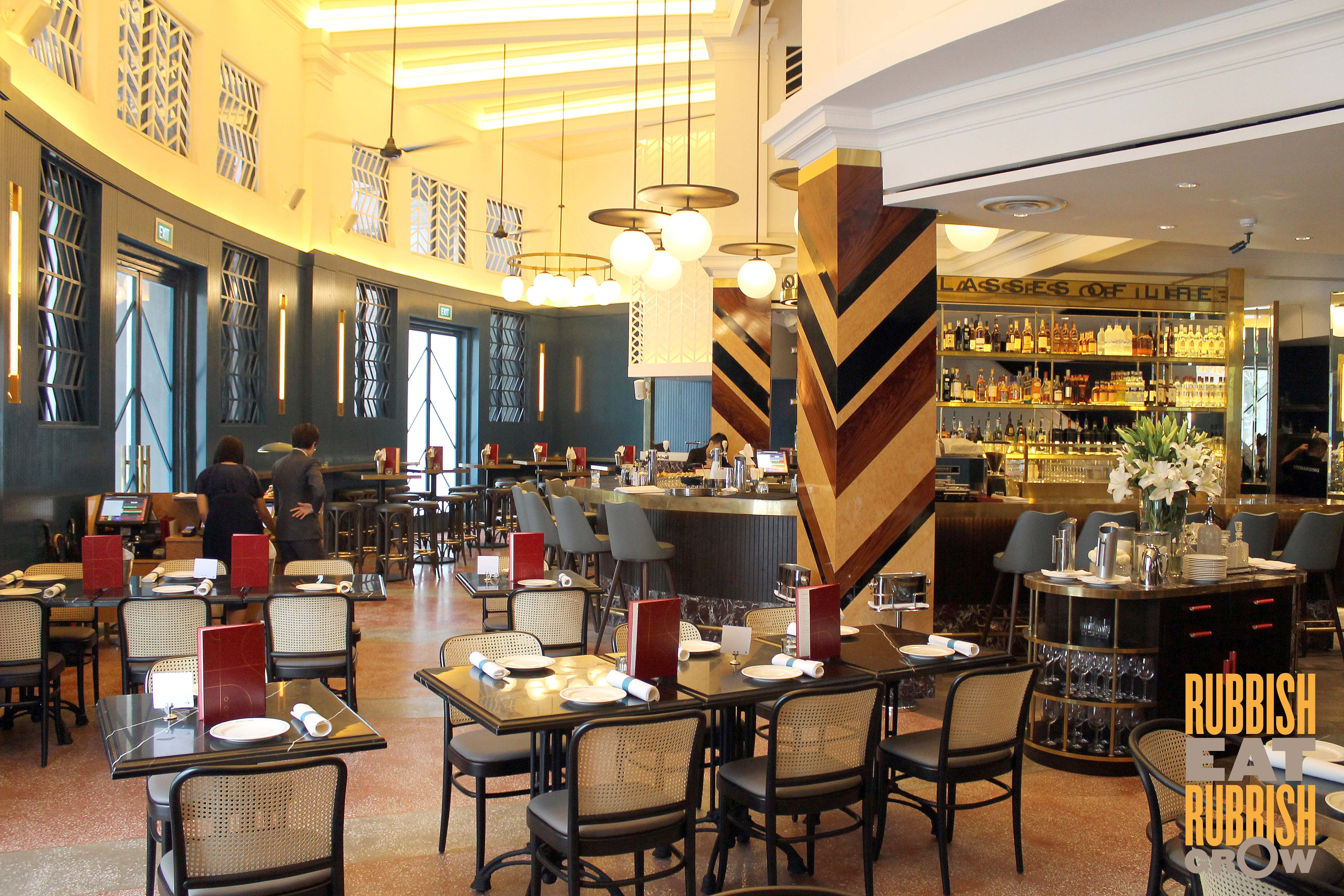 Swan Café Cape Town: Black Swan Restaurant Singapore
