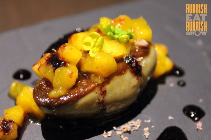 Candlenut dorsett hotel - foie gras