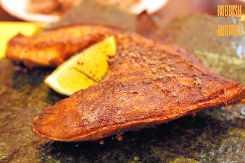 Ding Dong Restaurant Sg - kingfish wing