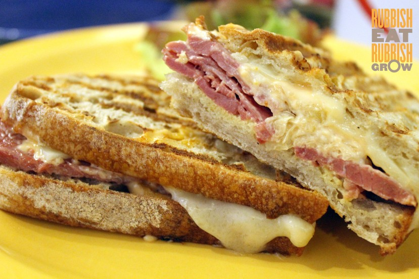 The Provision Shop Menu - Reuben Sandwich