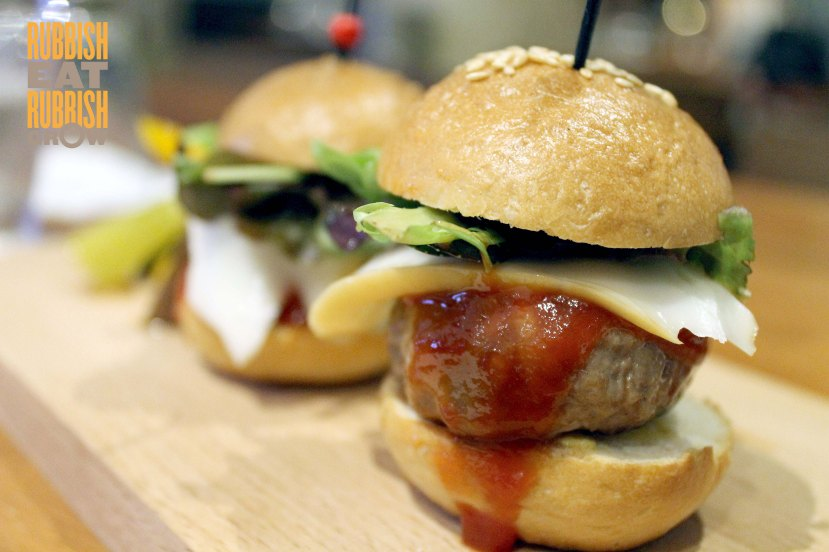 Nuvo Menu Singapore - Wagyu Sliders