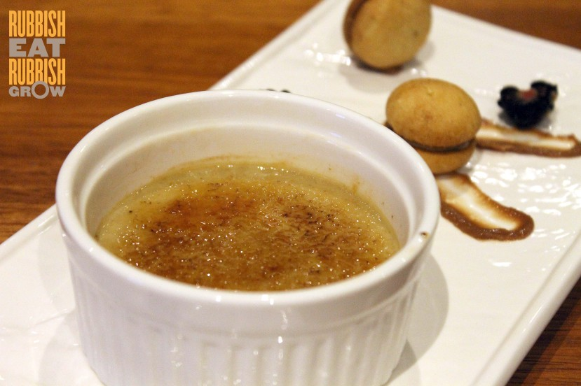 Nuvo Singapore - Earl Gray Creme Brulee