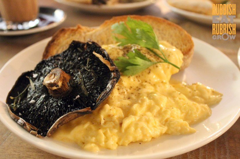 Ronin Cafe Menu Singapore - Scrambled Eggs