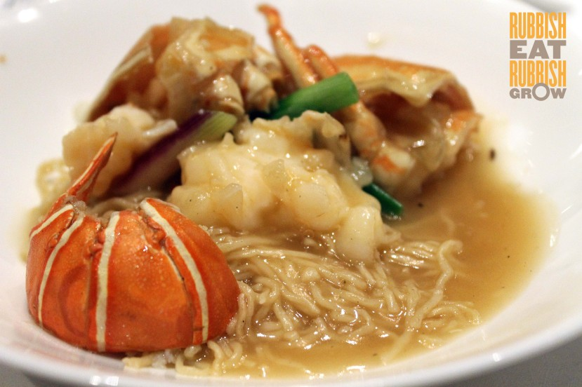 Shang Palace SG - Lobster noodles