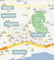 Busan Shijang Map