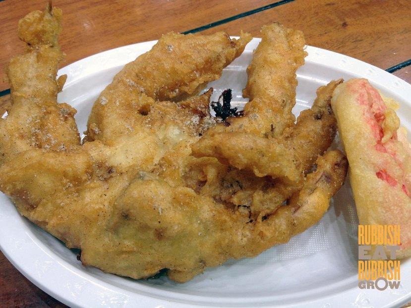 Sydney Fish Market - Deep-fried crab
