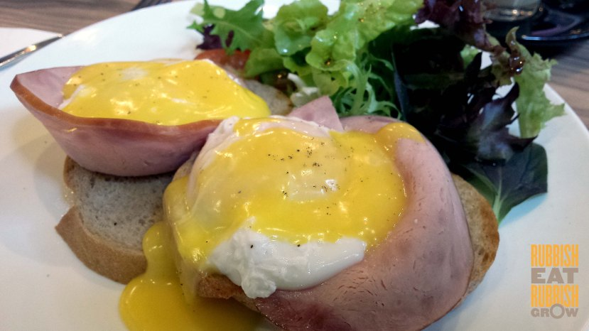 assembly coffee singapore - eggs benedict