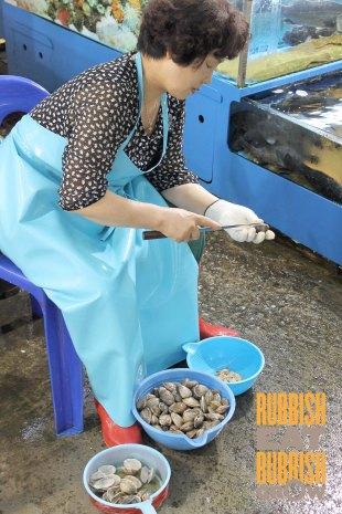 Noryangin Fish Market Seoul