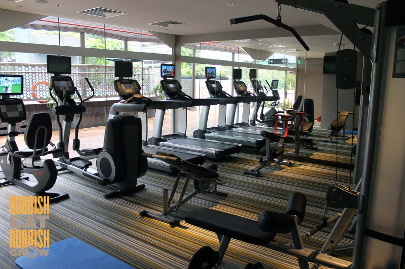 Village hotel katong gym
