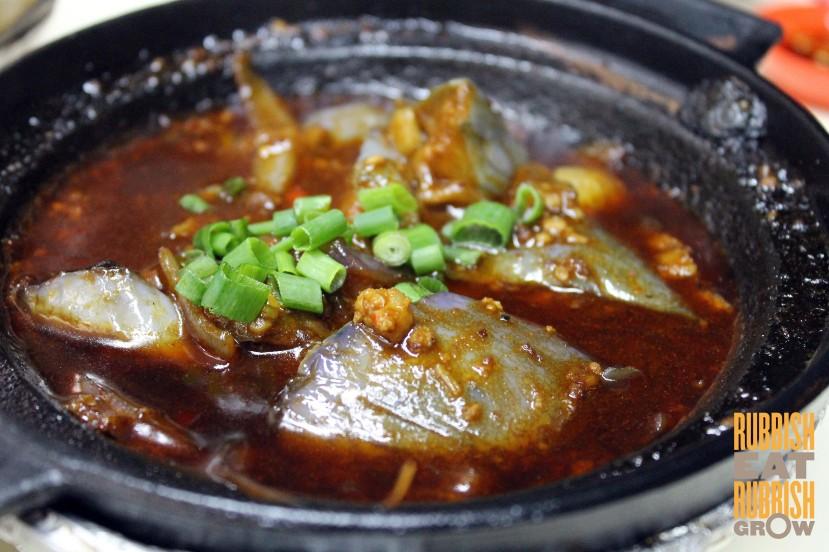 Lau Wang - Claypot Eggplant