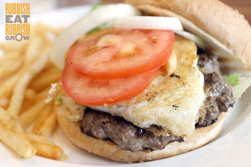 Wheeler's Yard Menu - Burger
