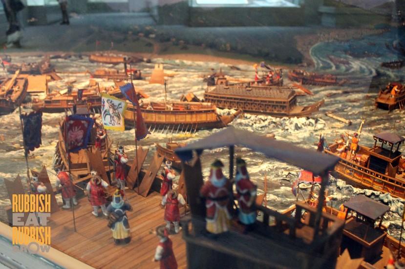 Busan Museum - Turtle Ships Korea