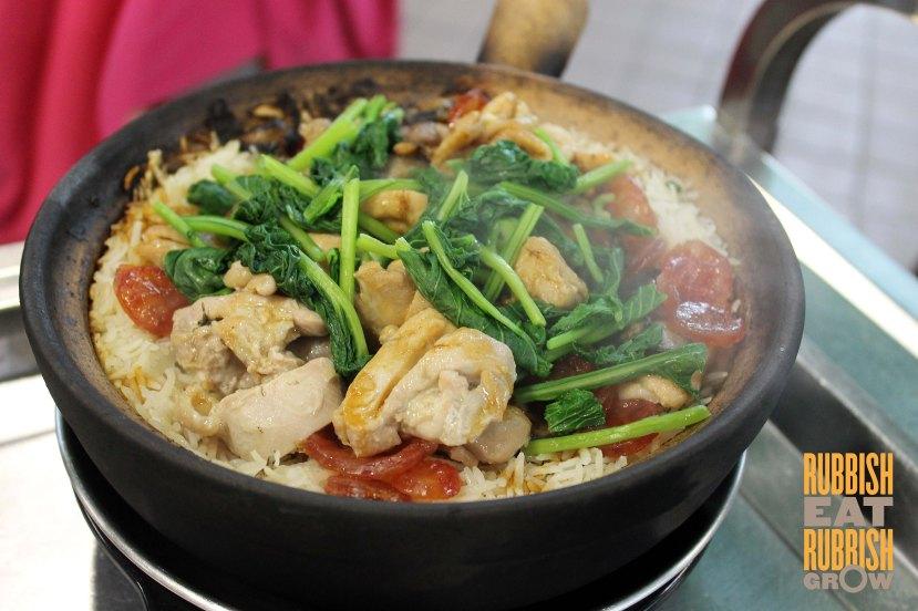 La Chasseur Eunos - claypot rice