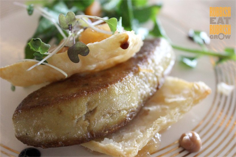 Stellar @ 1-altitude menu - foie gras