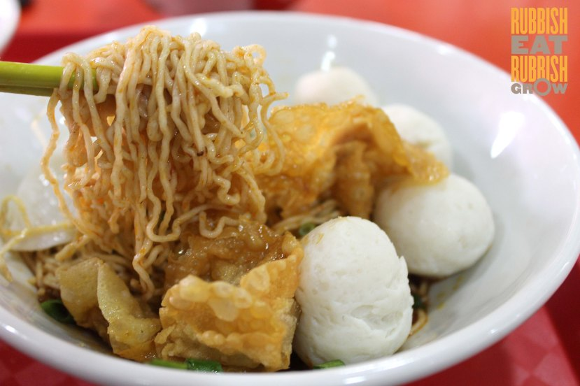 Ampang QQ fishball noodle singapore