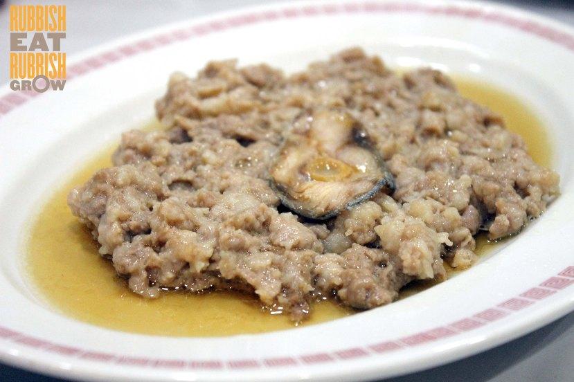Sik Bao Sin menu