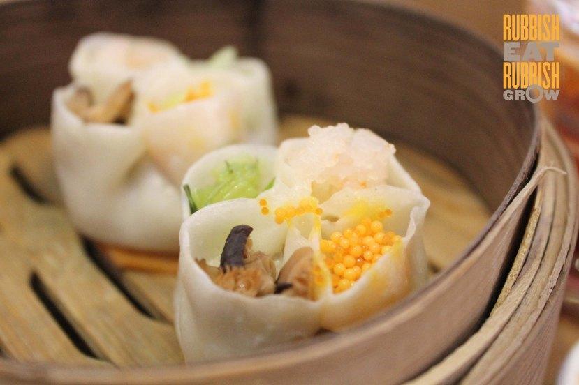 Ju Chun Yuan dim sum menu