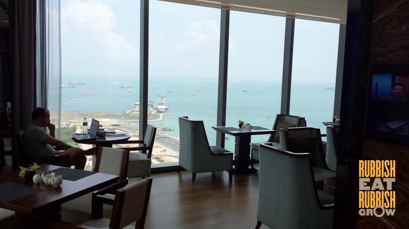 Westin Singapore Club Lounge
