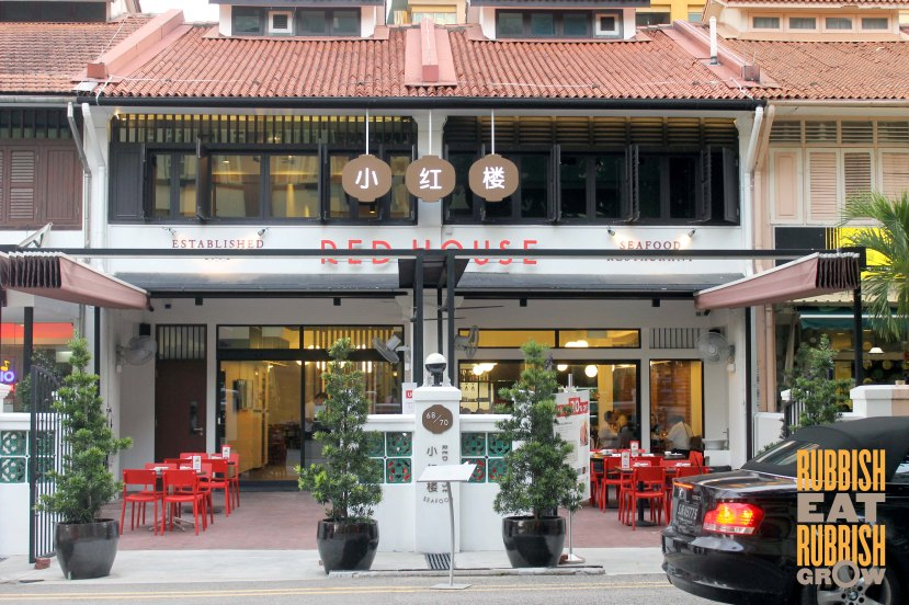 Red House Seafood Prinsep review