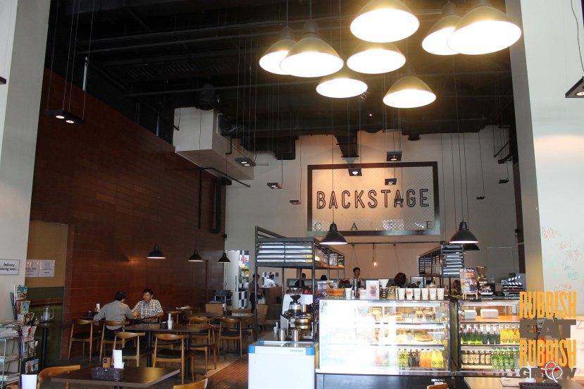 backstage cafe menu singapore