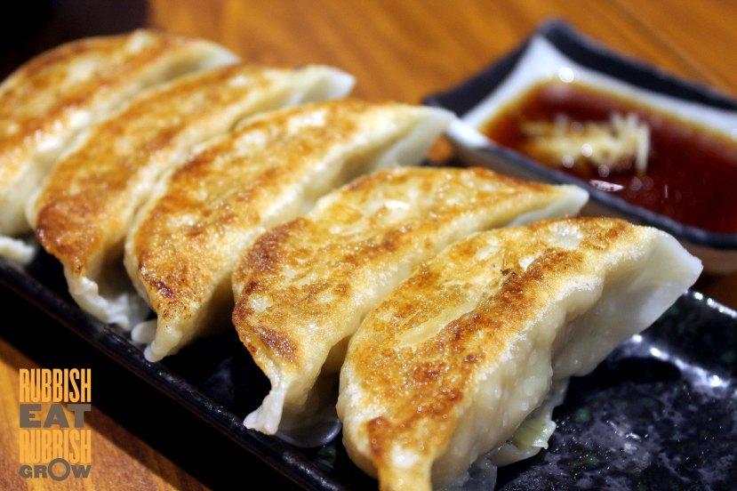 Gyoza ya singapore menu