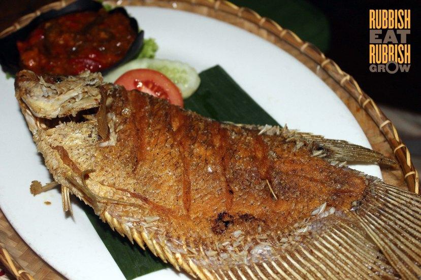 Kampung Daun Bandung food