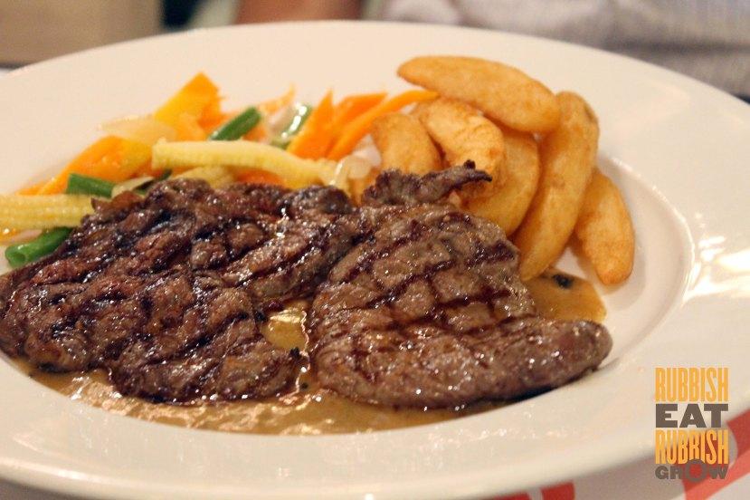 Tomodachi steak bandung review