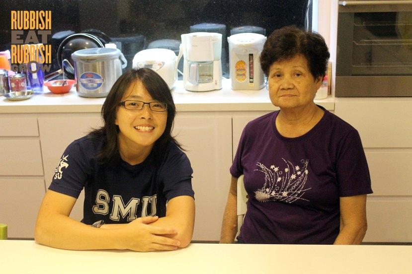Jing Wen & Ah Mah