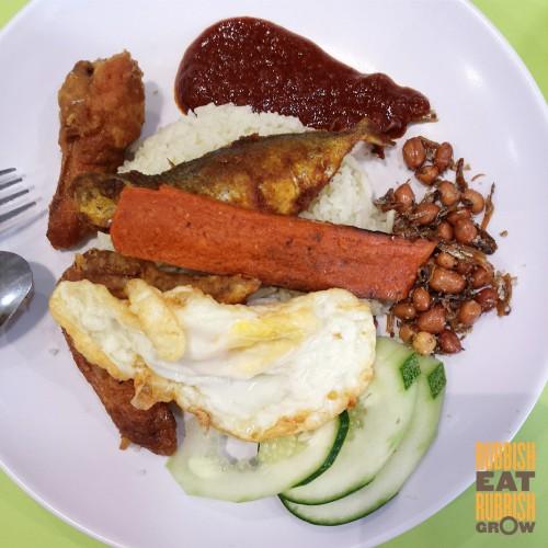 Makan Sutra Nasi Lemak Pandan Rice