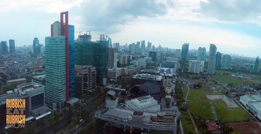 Jakarta from Citadines