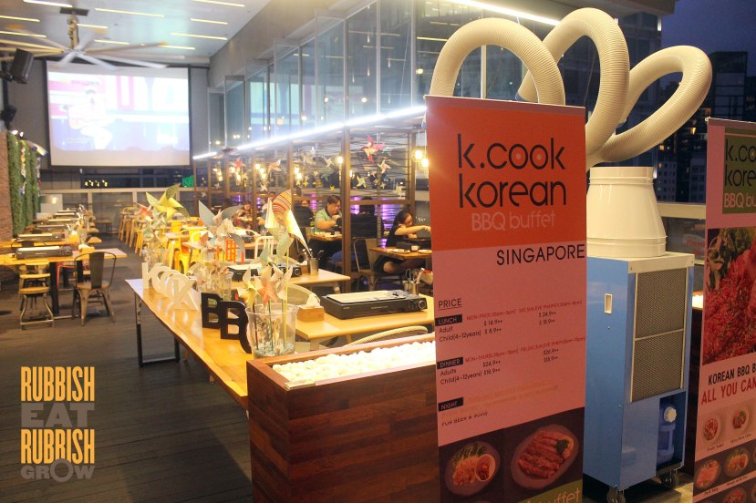 K cook korean bbq buffet Singapore price