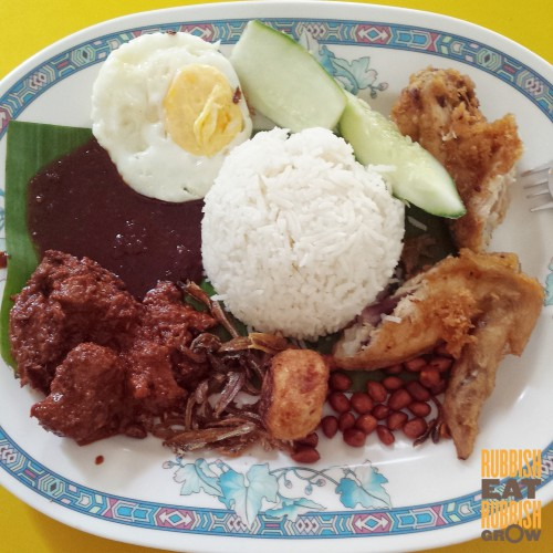 no 1 adam nasi lemak