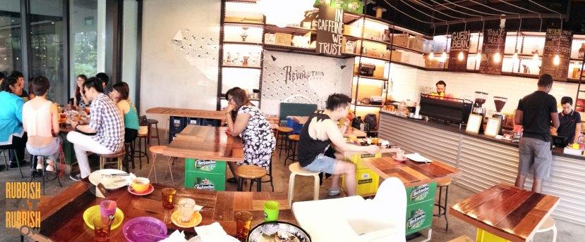 revolution coffee singapore menu