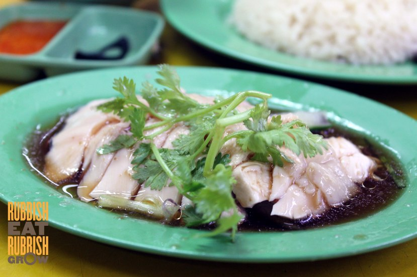 Hainanese Boneless Chicken Rice golden mile