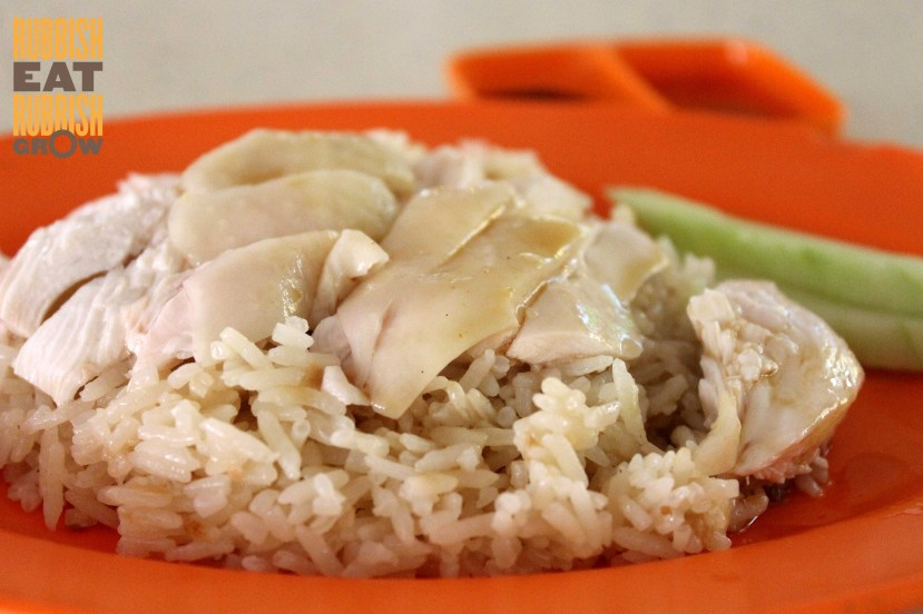Hainanese Chicken Rice tiong bahru