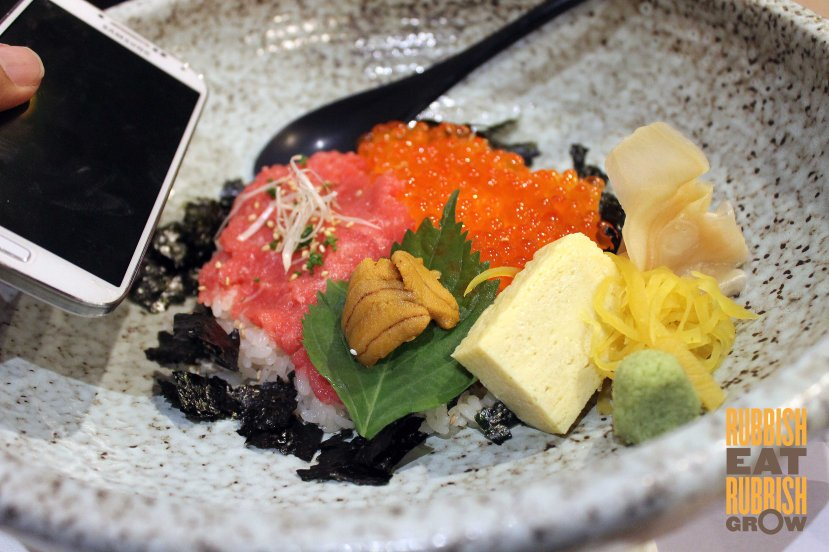 sushi kuu palais menu