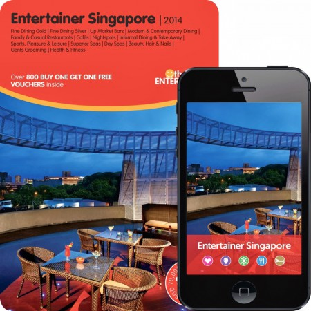 The Entertainer Book and App SG