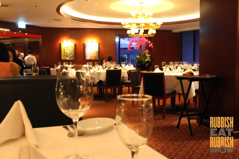 Ruth Chris Steakhouse singapore review