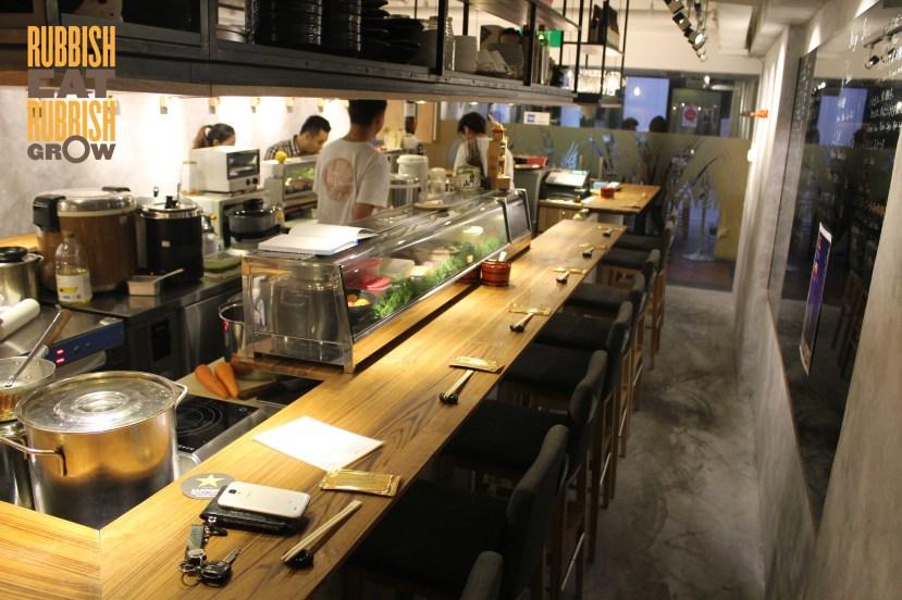 koji sushi bar china square review