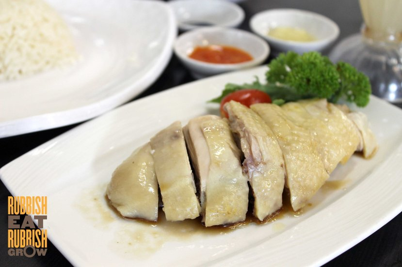 5 star hainanese chicken rice