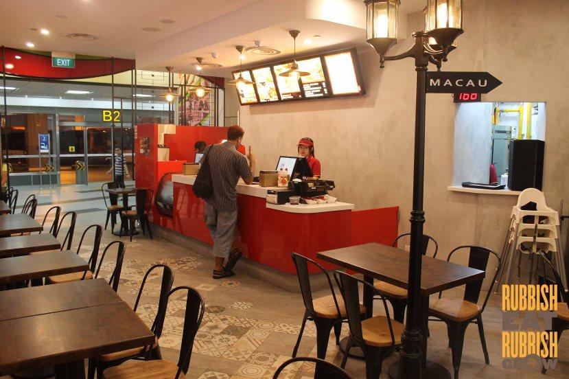 Tai Lei Loi Kei 澳门大利来记猪扒包(新加坡)Sg menu