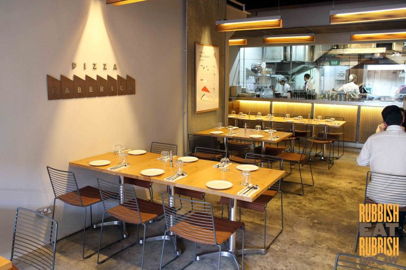 pizza fabbrica singapore review