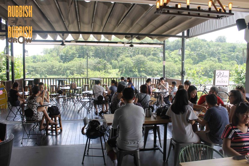Whisk and Paddle cafe punggol