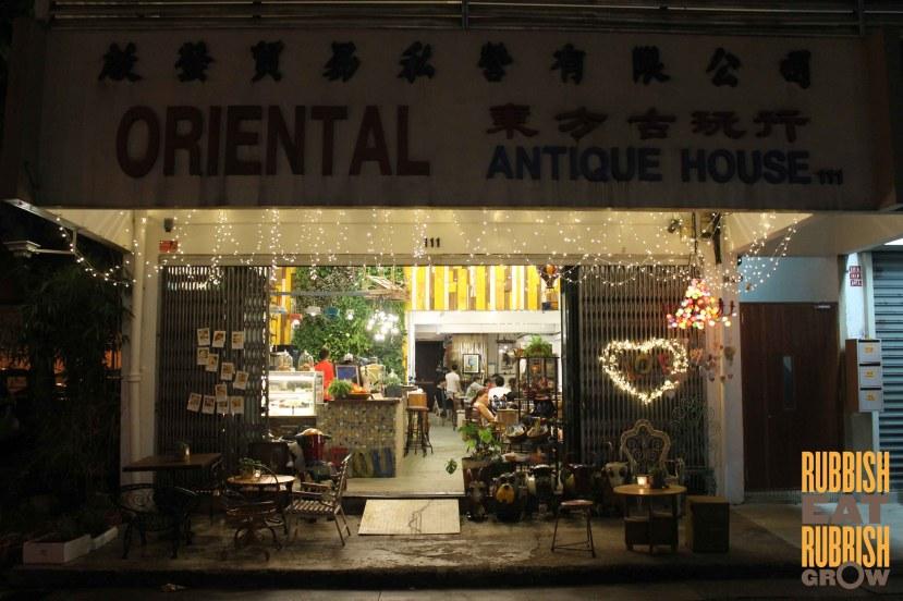 AEIOU Cafe Jalan Besar review