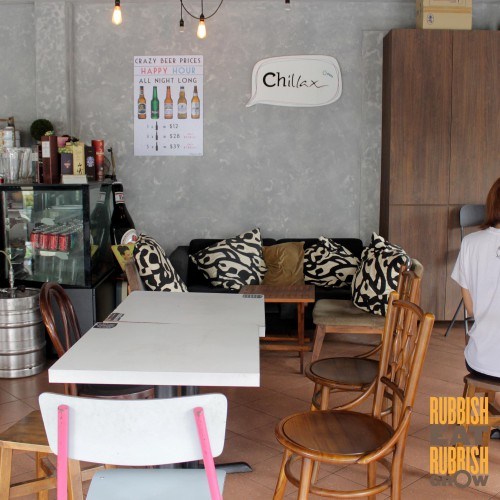 chillax cafe serangoon gardens review