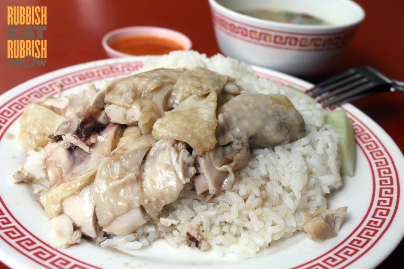 Rex Hainan Chicken Rice and Beef Kway Teow