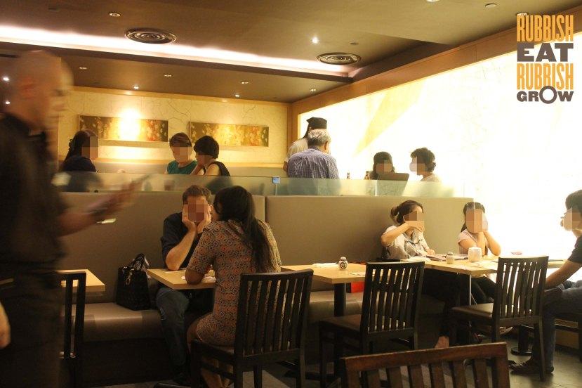 Shimbashi Soba menu