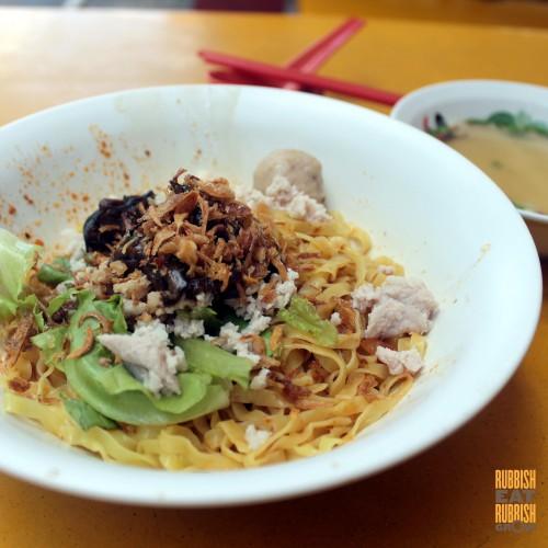 AMK Abalone Hainanese Minced Meat Noodle